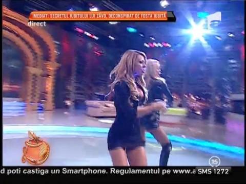 Ana Maria Mocanu şi Loredana Chivu, dezlănţuite în platoul Un Show Pacatos