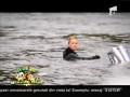 Flavia a făcut waveboard pe lacul Snagov!