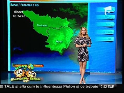 Vremea cu Flavia Mihăşan 13/10/2014