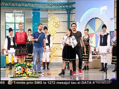 Echipa de la Neatza, dans tradițional cu sucitoare
