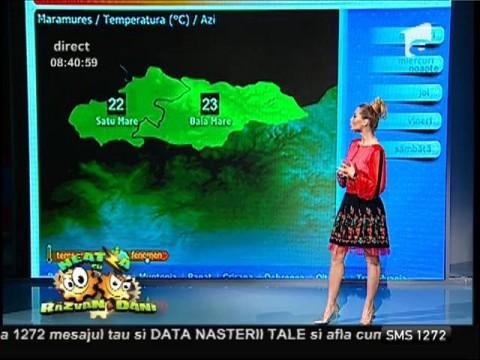 Vremea cu Flavia Mihăşan 15/10/2014