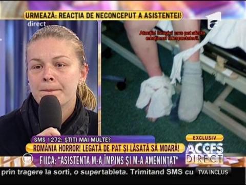 Strigător la cer! A mers de urgenţă la spital să fie salvată, dar a ajuns pe mâinile unor barbari în halate de doctori! - partea 2