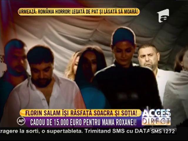 Florin Salam este îndrăgostit până peste urechi de Roxana
