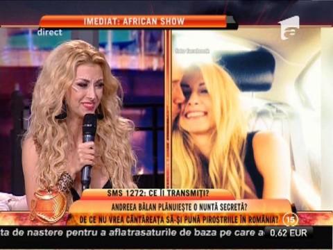"""Andreea Bălan, machiaj tribal: """"În noul meu videoclip reprezint o regina africană!"""""""