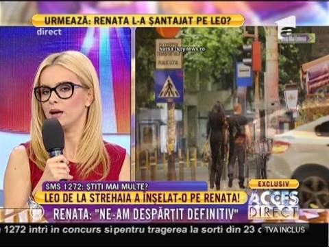 Leo de la Strehaia a înşelat-o pe Renata!