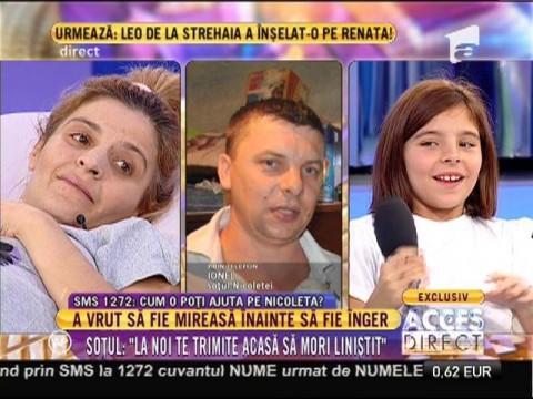 Povestea Nicoletei, o femeie de 35 de ani, mamă a doi copii, bolnavă de ciroză hepatică