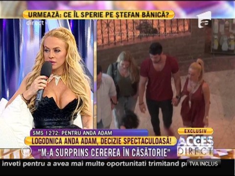 """Anda Adam a primit inelul de logodnă: """"Facem nunta în România!"""""""