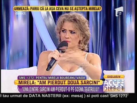 """Mirela Boureanu Vaida: """"Am pierdut două sarcini!"""""""