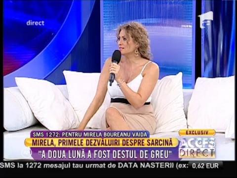 """Mirela Boureanu Vaida, primele dezvăluiri despre sarcină: """"Mă simt ca un balon"""""""