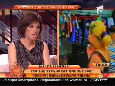 """Sorina, primul transsexual din România: """"Rămân femeie până mor!"""""""