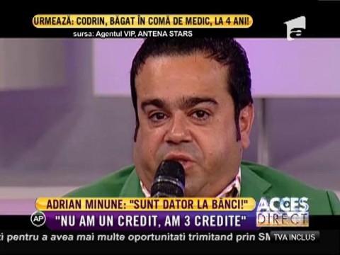 """Adrian Minune: """"Sunt dator la bănci. Am făcut împurmuturi să-mi iau maşini"""""""