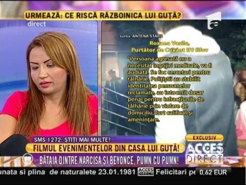 Iată filmul complet al incidentului din locuința lui Nicolae Guță!