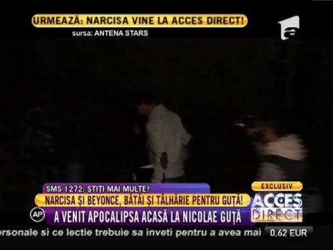 Narcisa și Beyonce s-au luat la bătăie în casa lui Guță!