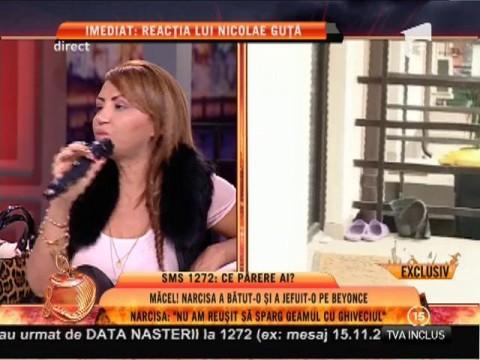 """Narcisa: """"Le-am pus în genunchi pe Beyonce de România și pe mă-sa!"""""""