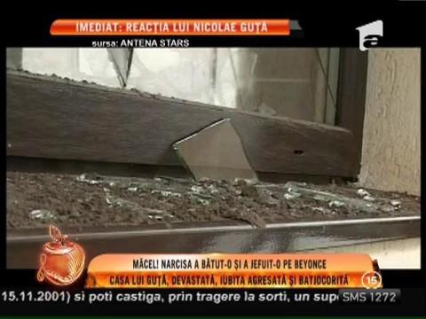 Casa lui Nicolae Guță, devastată, iar iubita agresată și batjocorită