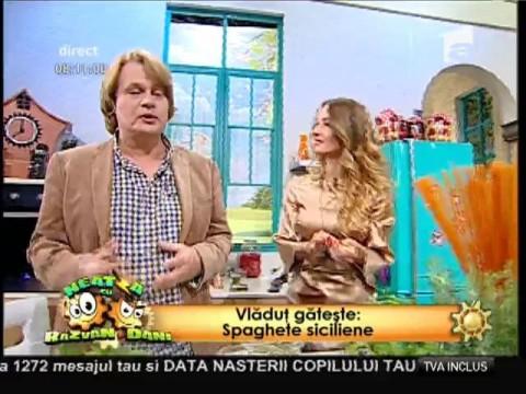 """Rețeta lui Vlădutz: """"Spaghete siciliene"""""""