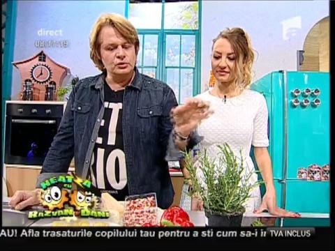 """Rețeta lui Vlădutz: """"Gnochi parfumați cu legume"""""""