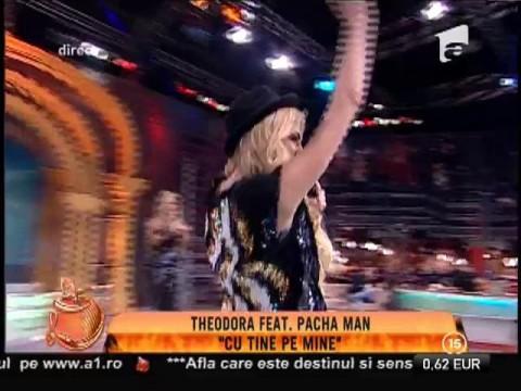"Theodora feat. Pacha Man - ""Cu tine pe mine"""