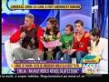 Întâlnire emoționantă între Emilia Mădălina și tatăl natural!