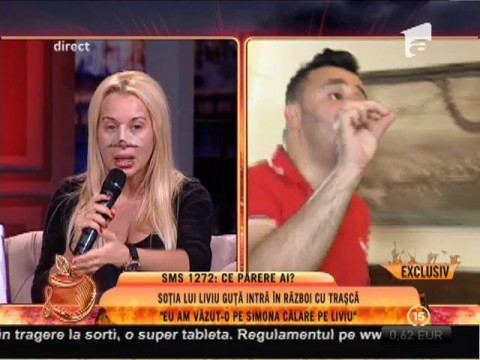 """Simona Trașcă: """"Liviu Guță m-a făcut 'târâtură'"""""""