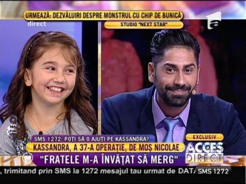 """Kassandra vrea să cucerească scena """"Next Star""""!"""