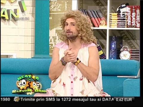 """Dani a inventat """"Dansul femeilor gravide"""", la Neatza!"""