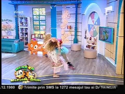 """Dans contemporan cu """"graviduțele"""" Dani Oțil și Flavia!"""