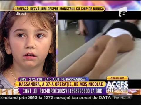 """Kassandra: """"Vreau să fiu un copil obișnuit"""""""