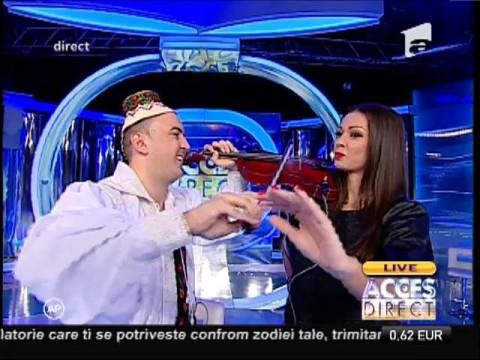 """Vasilică Ceterașul vrea în Cartea Recordurilor: """"Am încercat toate pozițiile cu vioara!"""""""