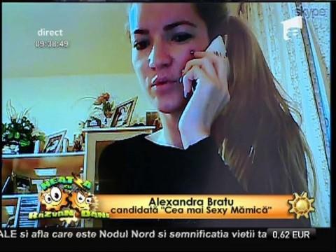 """Alexandra Bratu, candidată la """"Cea mai Sexy Mămică"""""""