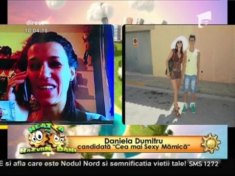 """Daniela Dumitru, candidată la """"Cea mai Sexy Mămică"""""""