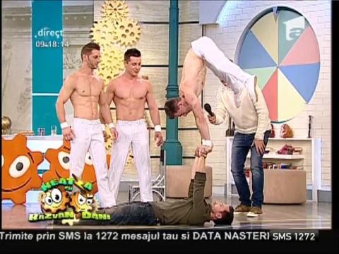 Dani Oțil, bun la circ!