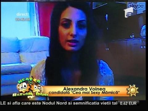"""Alexandra Voinea, candidată la """"Cea mai Sexy Mămică"""""""
