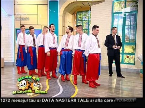 Răzvan și Dani, dans tradițional ucrainean
