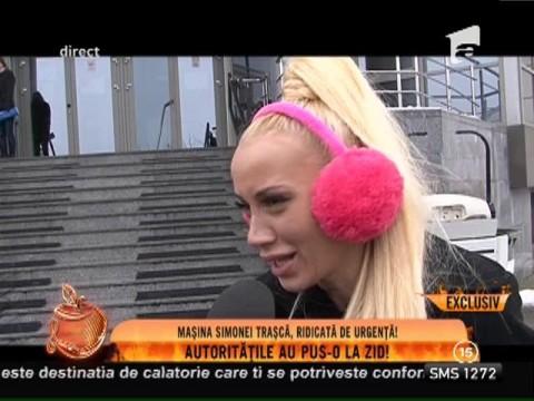 Mașina Simonei Trașcă, executată silit de stat!