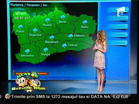 Vremea cu Flavia Mihăşan  10/12/2014
