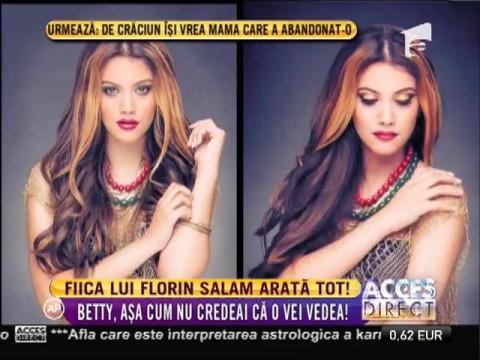 Fiica lui Florin Salam arată tot!