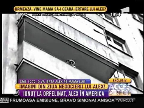 Imagini din ziua negocierii lui Alex!
