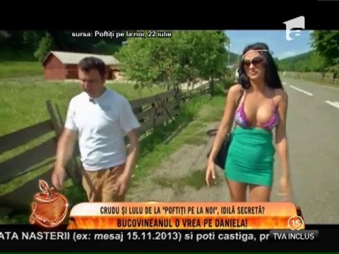 """Daniela Crudu, dorită de Lulu de la """"Poftiţi pe la noi""""!"""