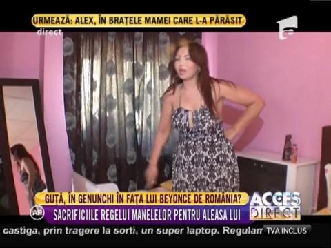 Beyonce de România ştie cum să-l ademenească pe Nicolae Guţă!