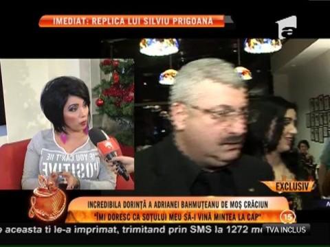 Vezi care e dorinţă a incredibilă Adrianei Bahmuţeanu de Moş Crăciun!