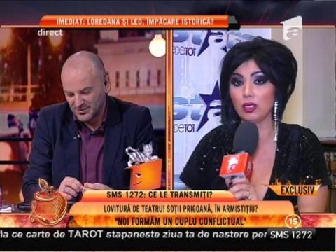 """Adriana Bahmuţeanu, despre relaţia cu Prigoană: """"Noi formăm un cuplu conflictual!"""""""