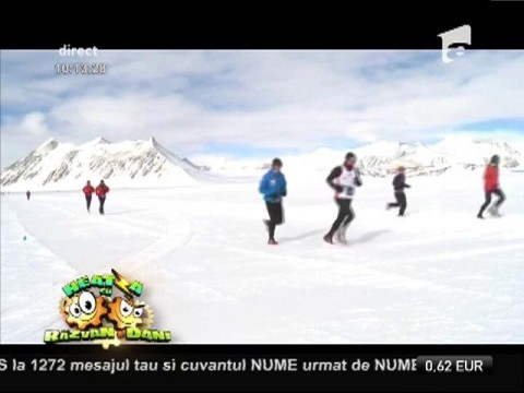 Adriana Istrate, prima româncă care a reușit să câștige un maraton în Antartica