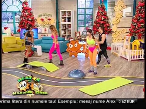Fitness la Neatza! Antrenament de tip circuit