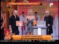 """Gala Premiilor Un Show Păcătos! Mariana Roşca, premiul I la categoria """"Valoarea trebuie respectată"""""""