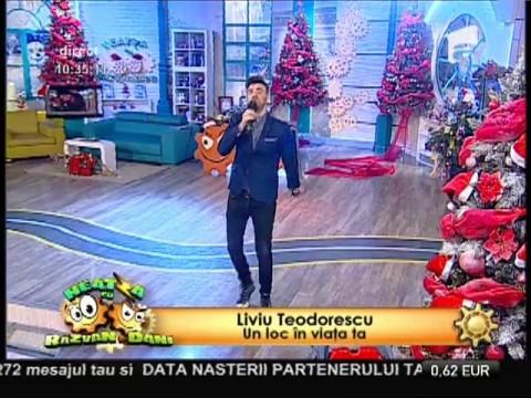 """Premieră! Liviu Teodorescu - """"Un loc în viața ta"""""""