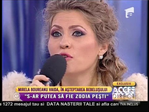 """Mirela Boureanu Vaida, în așteptarea bebelușului: """"Singurul lucru care îmi lipsește este fetița"""""""