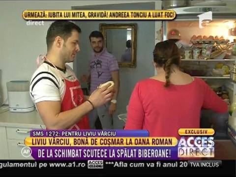Liviu Vârciu, bonă de coșmar la Oana Roman!