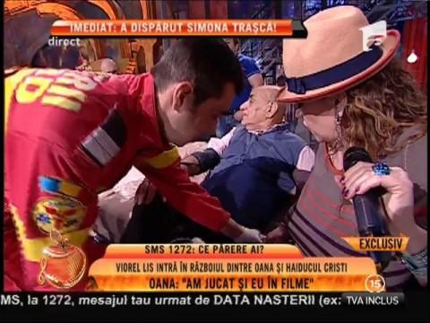 """Viorel Lis, crize de nervi în platoul """"Un show păcătos""""!"""
