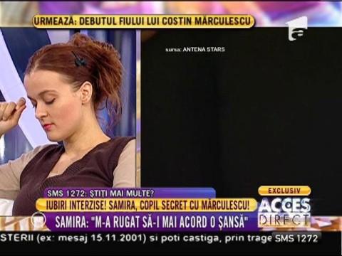 """Costin Mărculescu și Samira, la """"Acces Direct"""""""